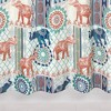 Elephant Patch Shower Curtain - Allure Home Creation - image 4 of 4