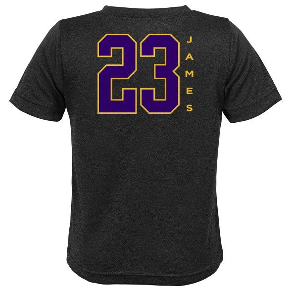 huge selection of 16f3b 388d8 NBA Los Angeles Lakers Boys' LeBron James Performance T-Shirt
