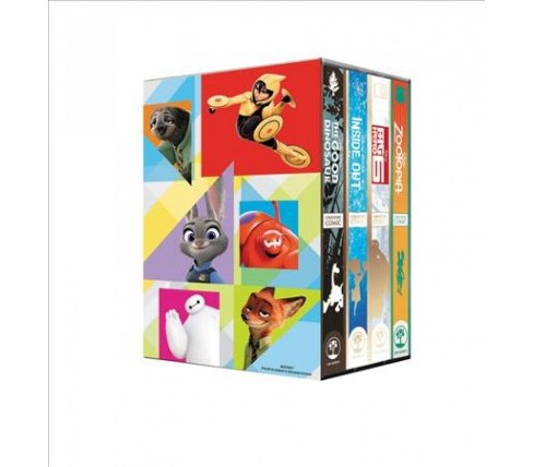 Disney Cinestory Set : Big Hero 6 / Inside Out / the Good Dinosaur / Zootopia (Paperback) - image 1 of 1