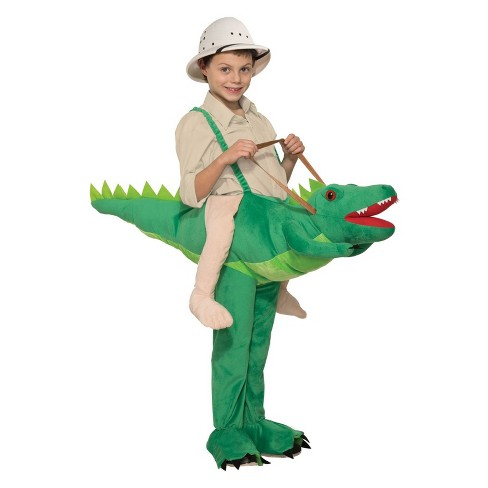 Kids' Ride-A-Alligator Halloween Costume - image 1 of 1