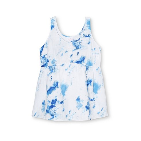 Button-Front Maternity Tank Top - Isabel Maternity by Ingrid & Isabel™ - image 1 of 2