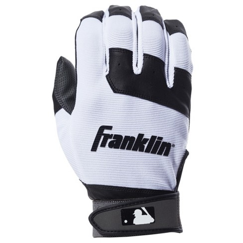 Franklin Sports MLB Flex Batting Glove Youth XS - Black/White - image 1 of 2