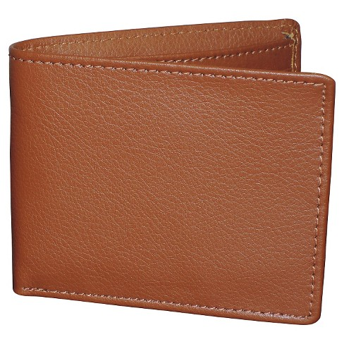 Men's Addison  Slimfold Secret Stash Wallet - Cognac - image 1 of 3