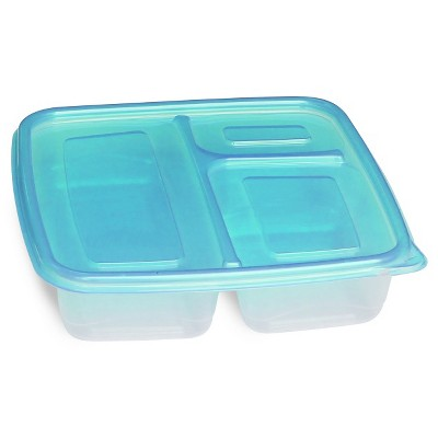 Disposable Three Compartment Container Set - 2pk - Up&Up™ (Compare to Ziploc®)