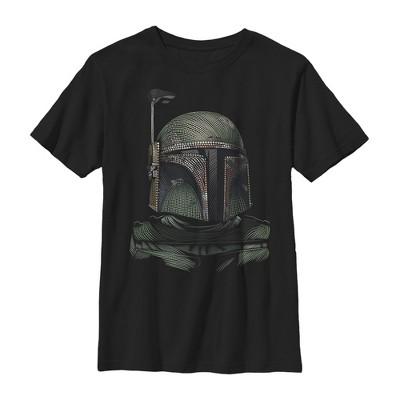 Boy's Star Wars Boba Fett Dot Art T-Shirt