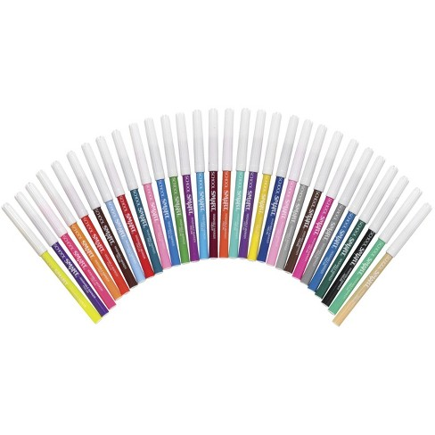 School Smart Non-Toxic Washable Marker, Fine Tip, Assorted Colors, pk of 30 - image 1 of 2