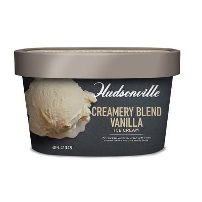Hudsonville Creamery Blend Vanilla - 48oz