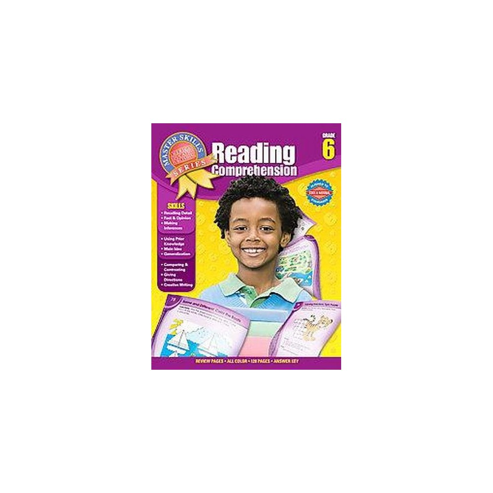 Reading Comprehension Grade 6 (Paperback)