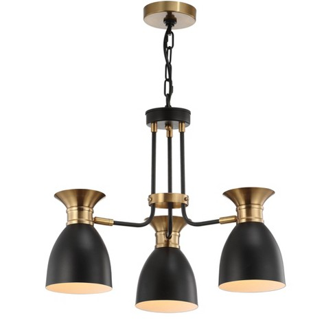 Middleton 3 Light Metal LED Pendant Black (Includes Energy Efficient Light Bulb) - JONATHAN Y - image 1 of 4