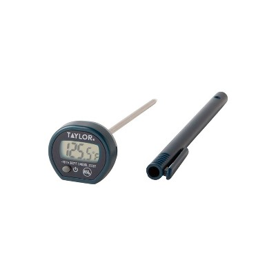 Taylor Digital Instant Read Pocket Thermometer Black