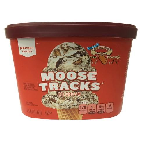 Moose Tracks Ice Cream - 48oz - Market Pantry™ - image 1 of 1