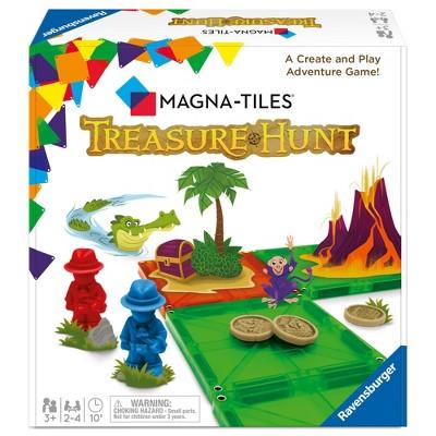 Magna Tiles Treasure Hunt Game