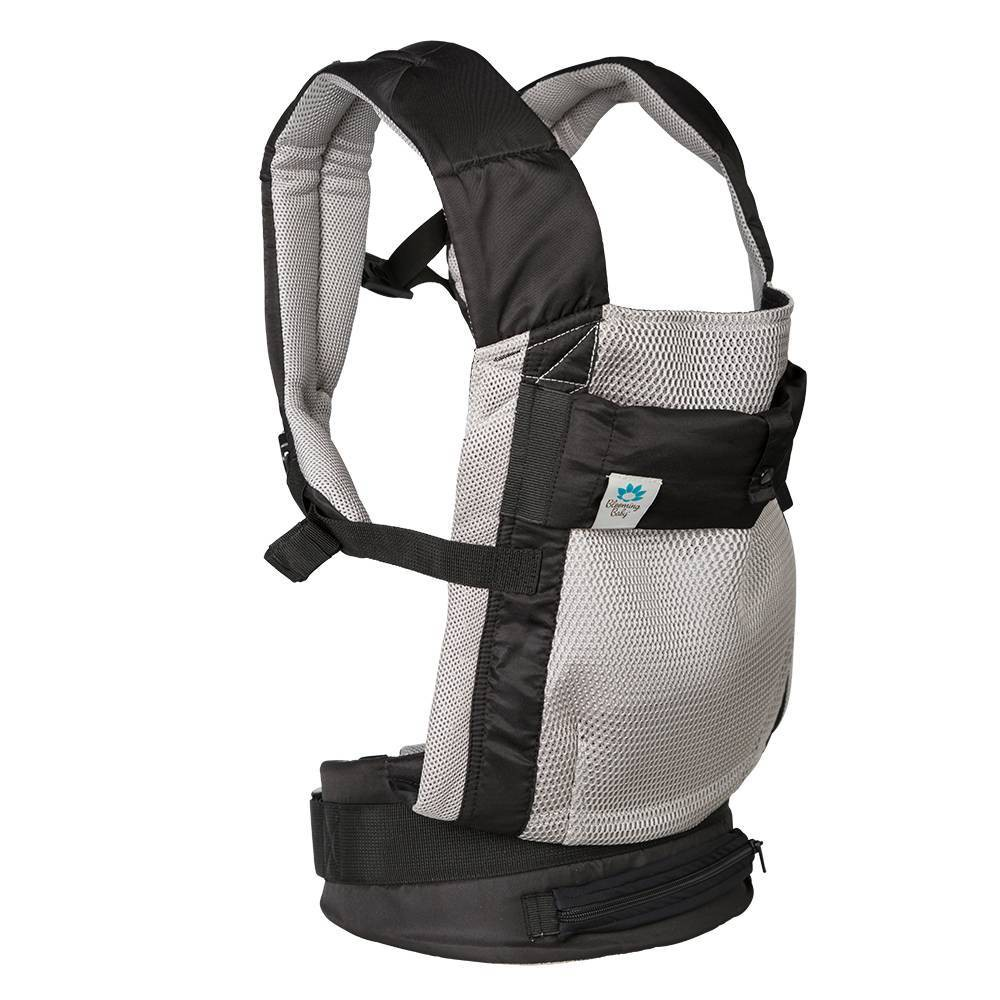 Image of Blooming Bath AirPod Baby Carrier with insert - Gray