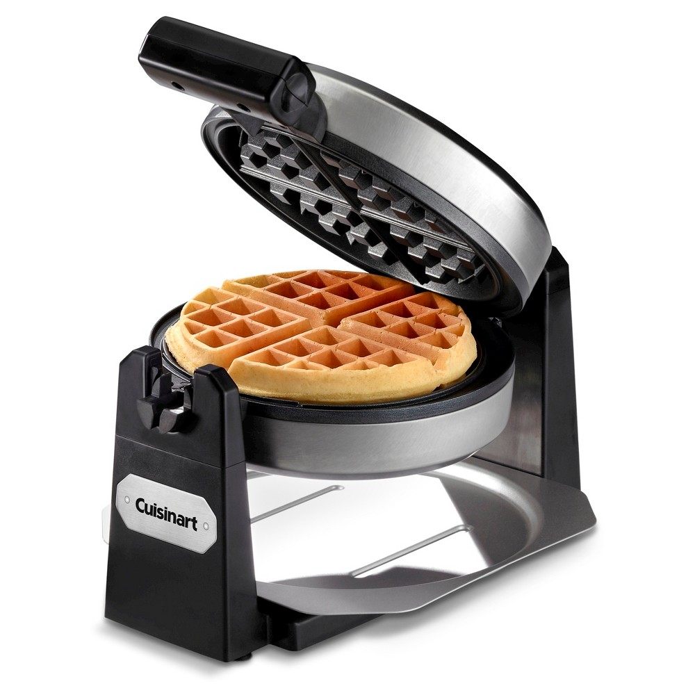 Image of Cuisinart Belgian Waffle Maker - Stainless Steel Waf-F10, Silver