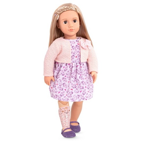 """Our Generation 18"""" Doll with Prosthetic Leg - Kacy - image 1 of 4"""