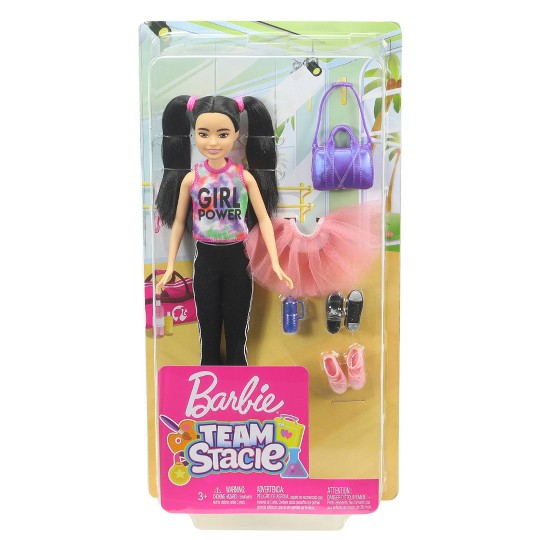 Barbie Team Stacie Doll & Dance image number null