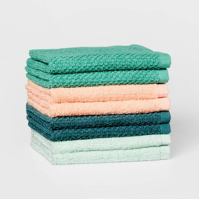 "8pc 12""x12"" Washcloth Set Boho - Pillowfort™"