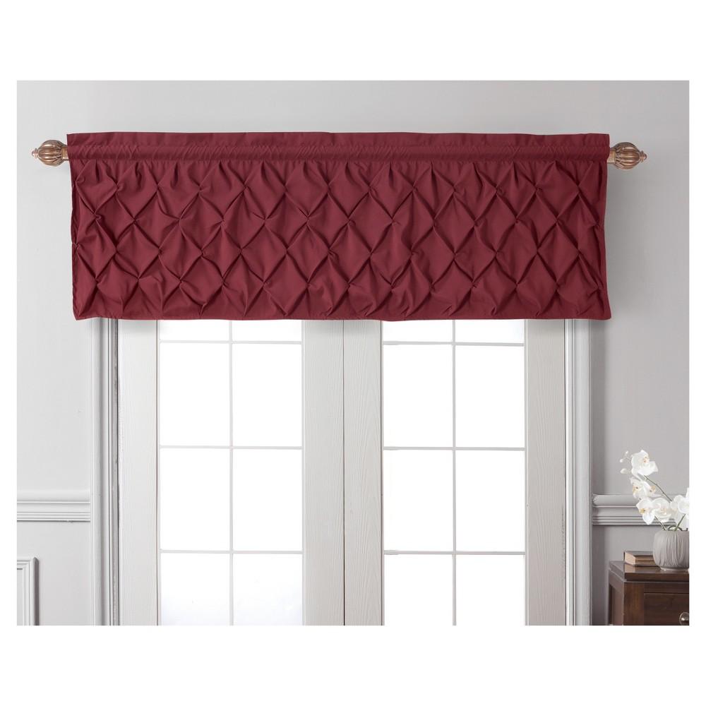 Carmen Window Valance Burgundy (Red) (60