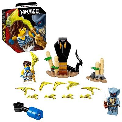 LEGO NINJAGO Epic Battle Set – Jay vs. Serpentine Building Kit 71732