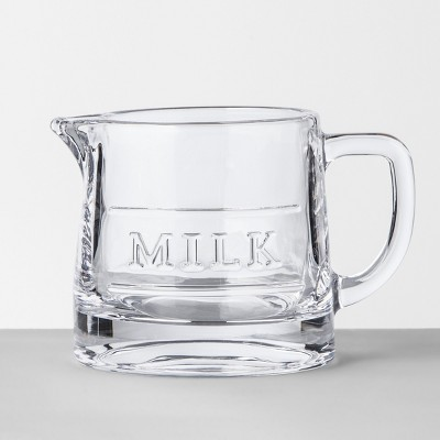 Milk Server Glass Clear - Hearth & Hand™ with Magnolia