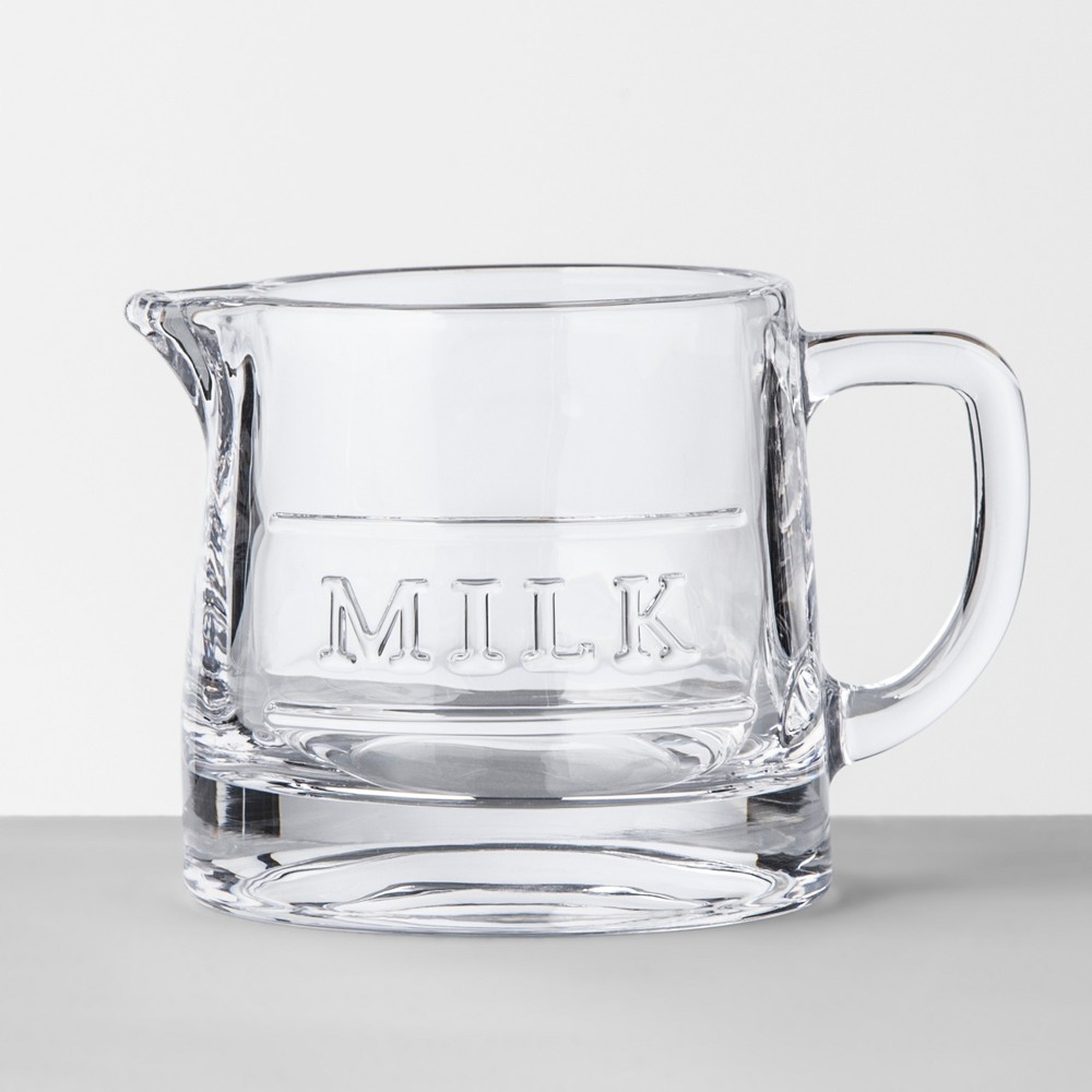 Image of Milk Server Glass Clear - Hearth & Hand with Magnolia