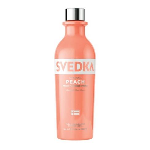 SVEDKA Peach Flavored Vodka - 375ml Bottle - image 1 of 2