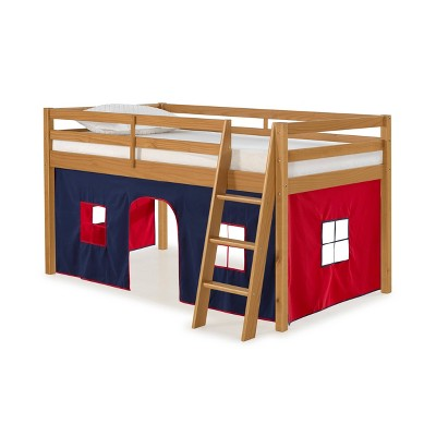Twin Roxy Junior Loft Bed With Tent - Alaterre Furniture
