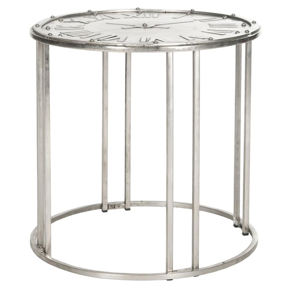 Roman Accent Table Silver - Safavieh