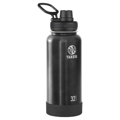 Takeya Actives 32oz Insulated Stainless Steel Water Bottle with Spout Lid - Slate