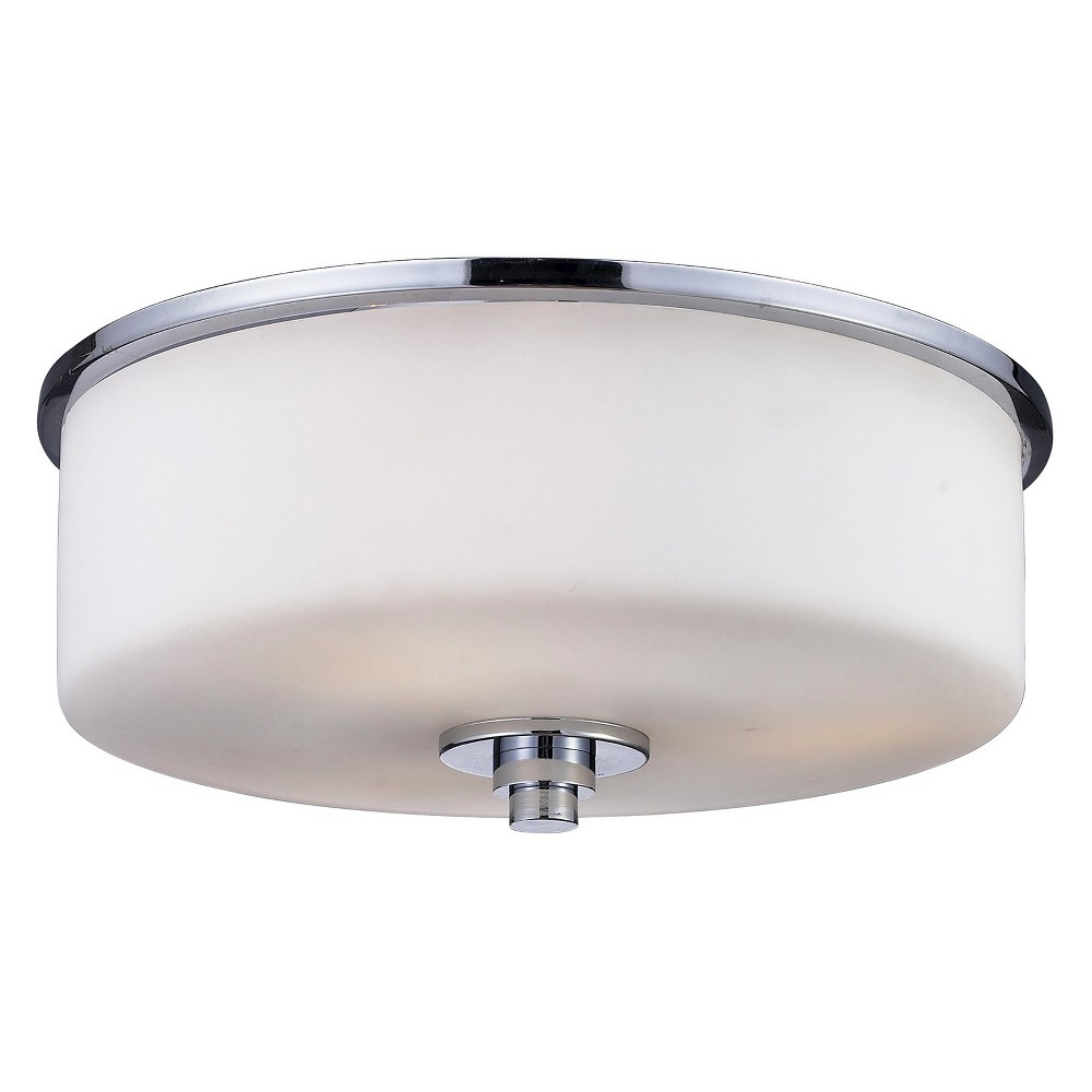 Flush Mount Ceiling Lights with Matte Opal Glass (Set of 2) - Z-Lite