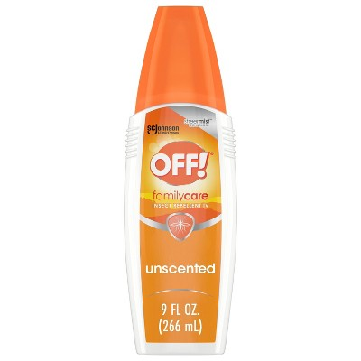 OFF! FamilyCare Mosquito Repellent IV - Unscented - 9oz/1ct