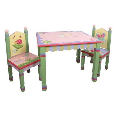 Fantasy Fields Magic Garden Table & Chair (Set of 2)- Teamson
