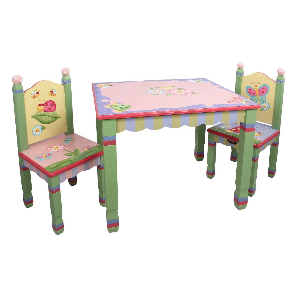 Fantasy Fields Magic Garden Table & Chair (Set of 2) - Teamson