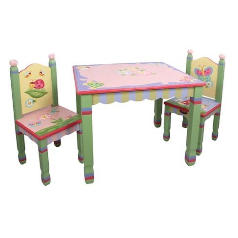 Fantasy Fields Magic Garden Table Chair Set Of 2 Teamson Target