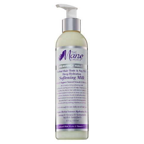 The Mane Choice Heavenly Halo Herbal Hair Tonic & Soy Milk Deep Hydration Softening Milk - 8 fl oz - image 1 of 3