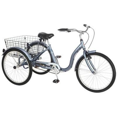 "Schwinn Meridian 24"" Cruiser Tricycle - Blue"