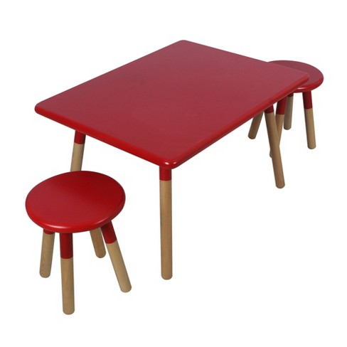 Juvenile Dipped 3 Piece Table Set - image 1 of 6