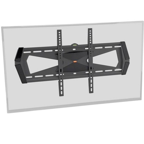 Monoprice Fixed TV Wall Mount Bracket For TVs 37in to 70in, Max Weight 88lbs, VESA Patterns Up to 600x400, Security Brac - image 1 of 4