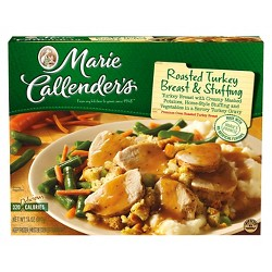Marie Callenders Frozen Roast Turkey Stuffing Dinner - 14oz