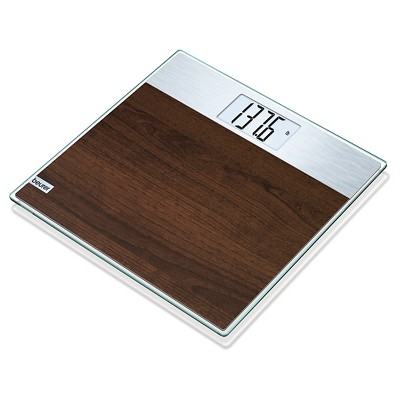 Digital Faux Wood Glass Scale Brown - Beurer