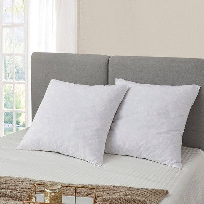 Euro 2pk Feather Bed Pillow - Serta