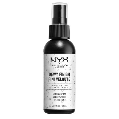 Face Makeup: NYX Professional Makeup Setting Spray Dewy Finish