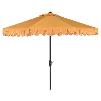 9' Elegant Valance Umbrella - Safavieh