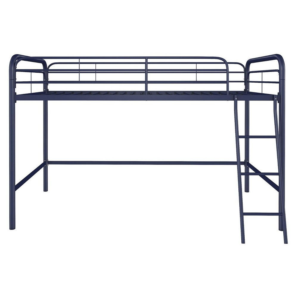 Image of Adeline Junior Metal Loft Bed Blue - Room & Joy