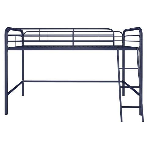 Adeline Junior Metal Loft Bed - Dorel Home Products - image 1 of 9