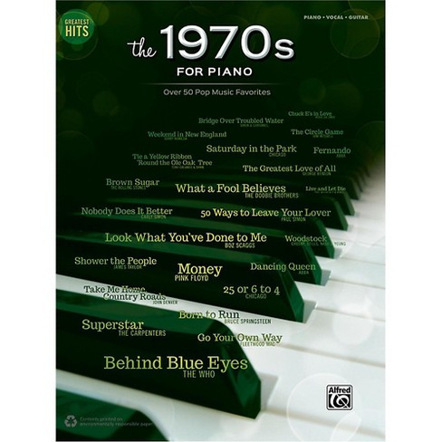 Alfred Greatest Hits: The 1970s for Piano Piano/Vocal/Guitar Songbook - image 1 of 1