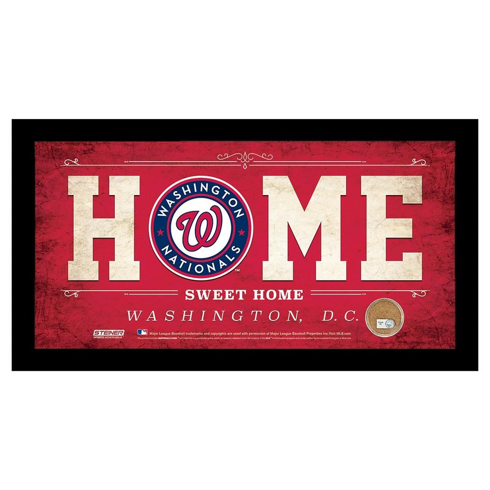 Washington Nationals Steiner Sports Home Sweet Home Sign - 6x12 inch