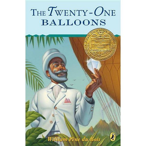 The Twenty-One Balloons - (Puffin Newberry Library) by  William Pene Du Bois (Paperback) - image 1 of 1