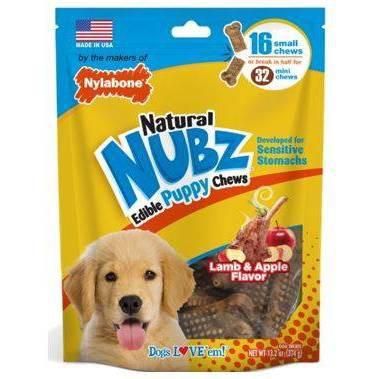 Nylabone Nubz Puppy Turkey and Sweet Potato Dental Dog Treats - 13.2oz