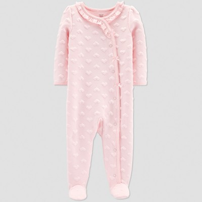 Baby Girls' Collection Sleep 'N Play - Just One You® made by carter's Pink 3M